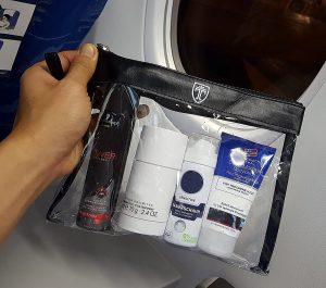 Trousse de toilette de voyage pour avion Travando